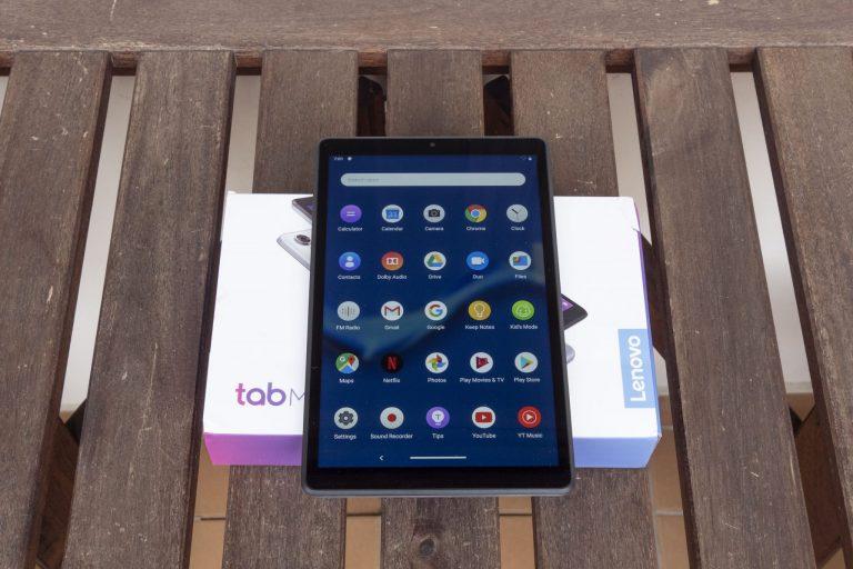 Lenovo Tab M8 Full HD tablet teszt 11
