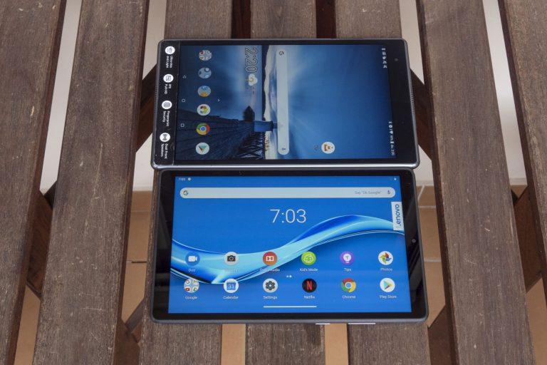 Lenovo Tab M8 Full HD tablet teszt 14