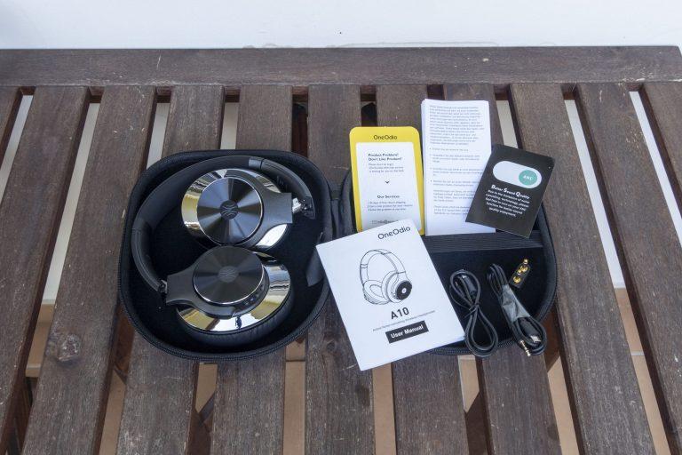 Oneodio A10 zajcsökkentős fülhallgató teszt 7