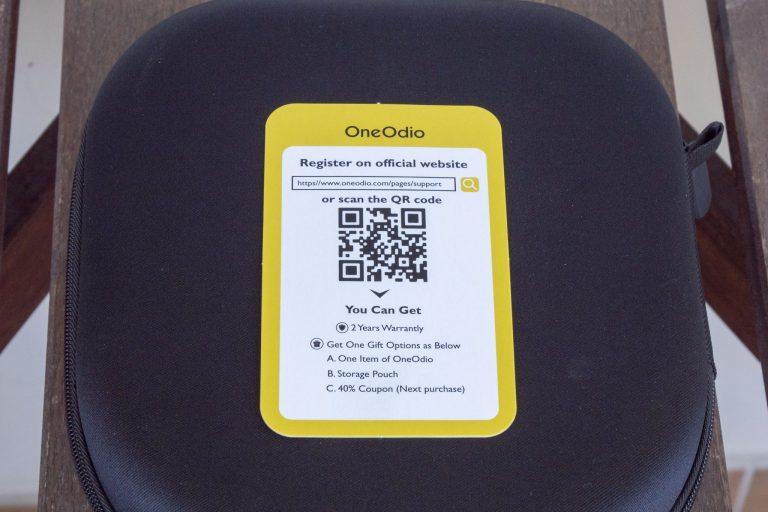 Oneodio A10 zajcsökkentős fülhallgató teszt 8