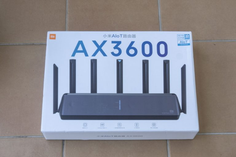 Xiaomi AX3600 router teszt 2