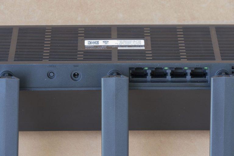 Xiaomi AX3600 router teszt 7