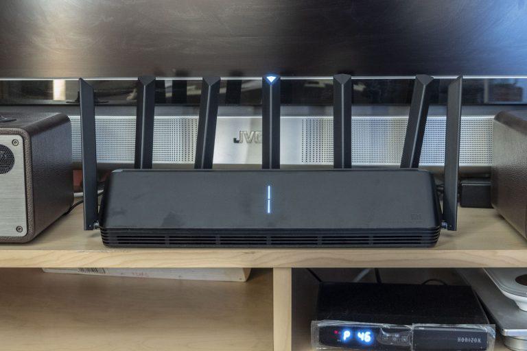 Xiaomi AX3600 router teszt 13