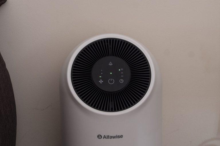 Alfawise P2 légtisztító teszt 5