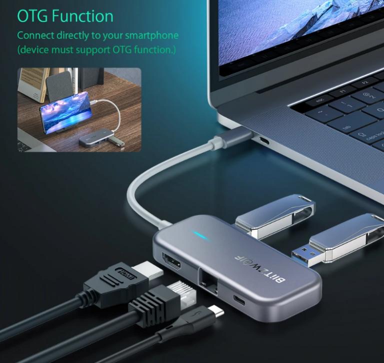 Remek akcióban a BlitzWolf egyik többfunkciós USB hub-ja 7