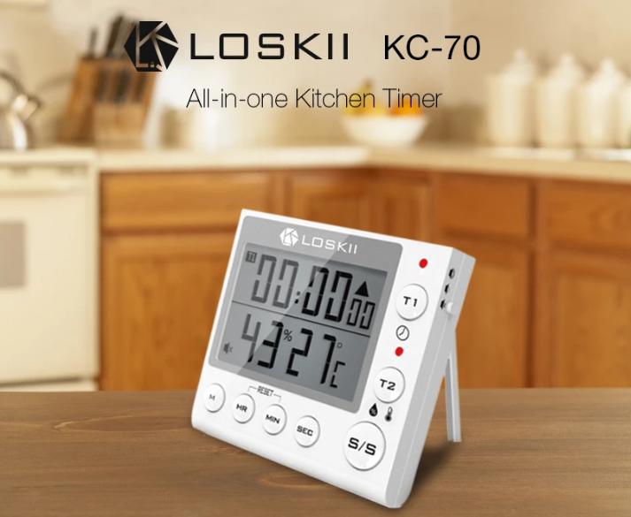 Filléres hőmérős órák a Loskii-tól 2