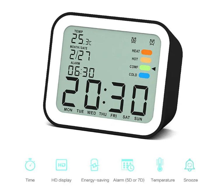 Filléres hőmérős órák a Loskii-tól 12