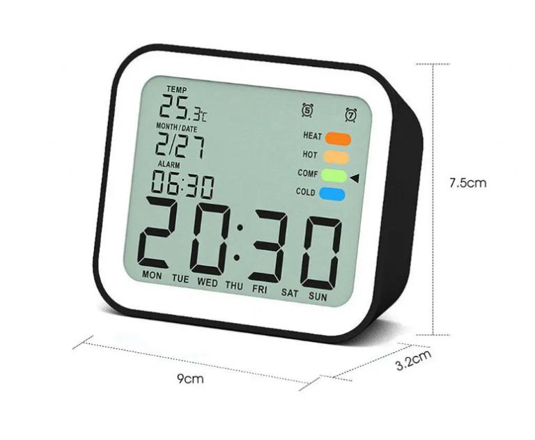 Filléres hőmérős órák a Loskii-tól 11