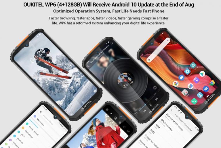Előrendelhető a gyengébb Oukitel WP6 3