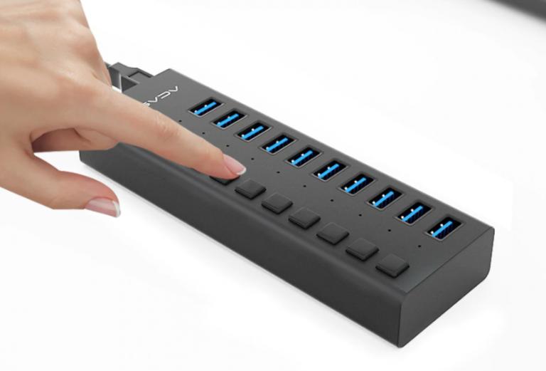 Igazi USB HUB szörny Aliexpressről 6