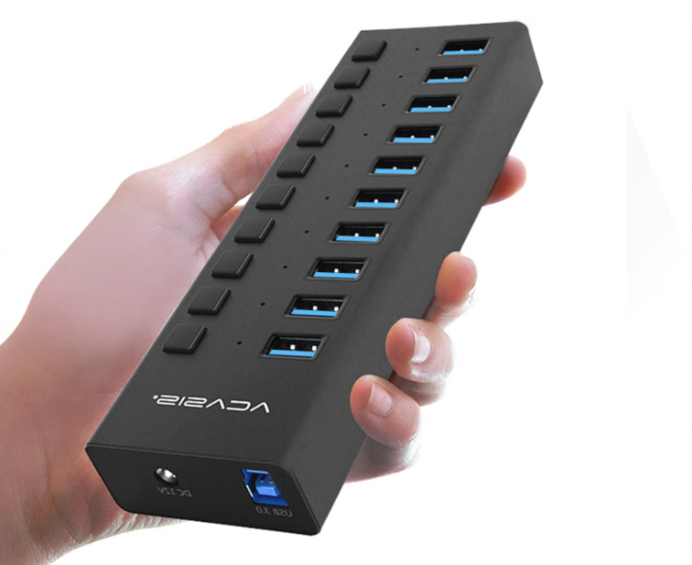 Igazi USB HUB szörny Aliexpressről 5