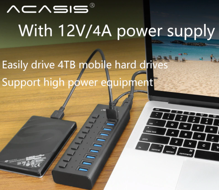 Igazi USB HUB szörny Aliexpressről 2