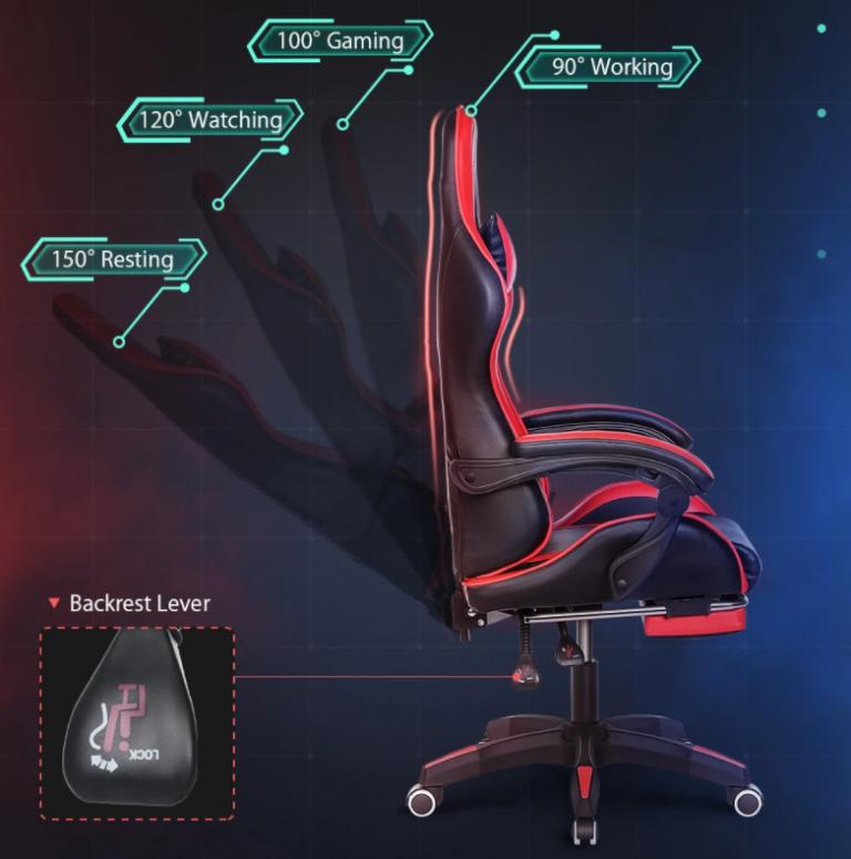 Nagy sikerű a BlitzWolf ultraolcsó gamer széke 8
