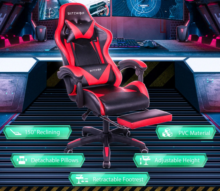 Nagy sikerű a BlitzWolf ultraolcsó gamer széke 9