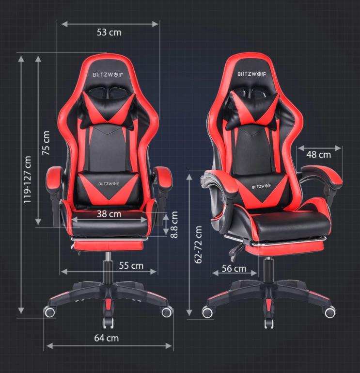 Nagy sikerű a BlitzWolf ultraolcsó gamer széke 5