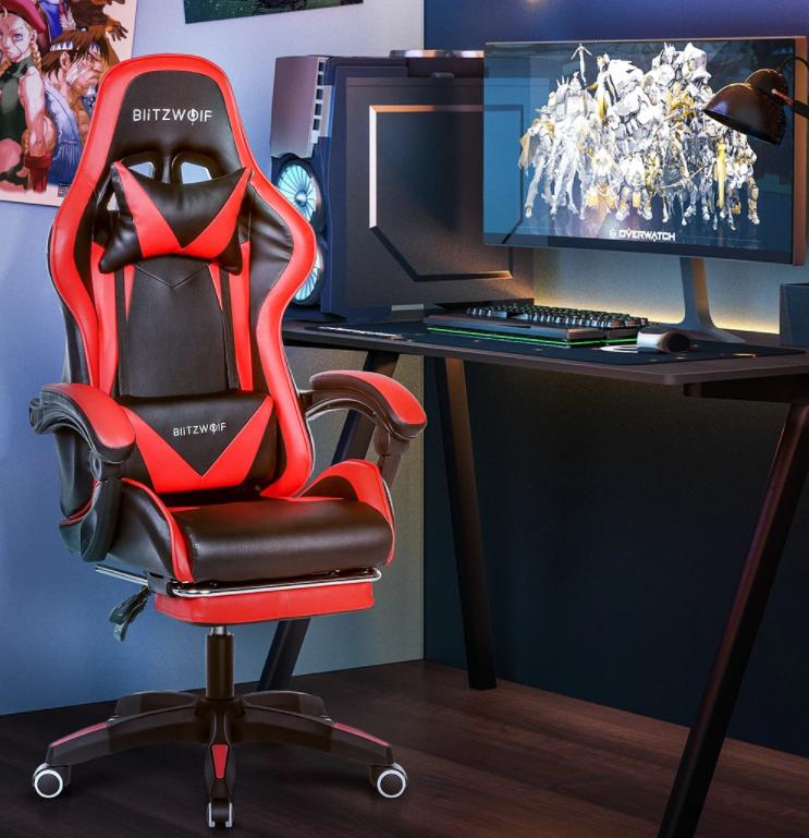 Nagy sikerű a BlitzWolf ultraolcsó gamer széke 2