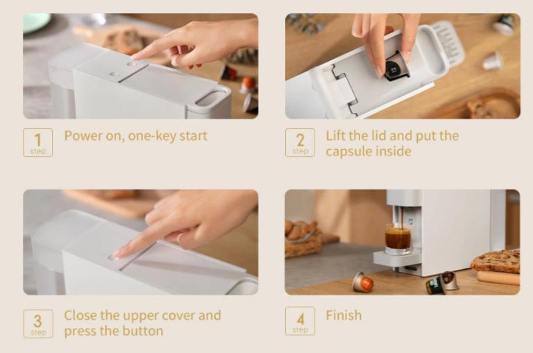 Már elérhető a legújabb Xiaomi kávéfőző 8