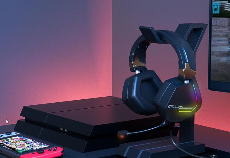 Új, 7.1-es gamer fejhallgató érhető el a BlitzWolftól 7