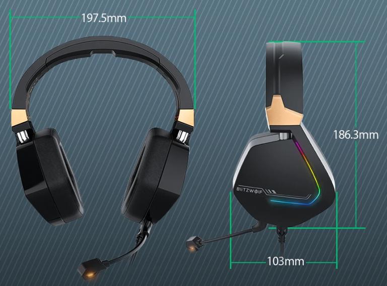 Új, 7.1-es gamer fejhallgató érhető el a BlitzWolftól 5