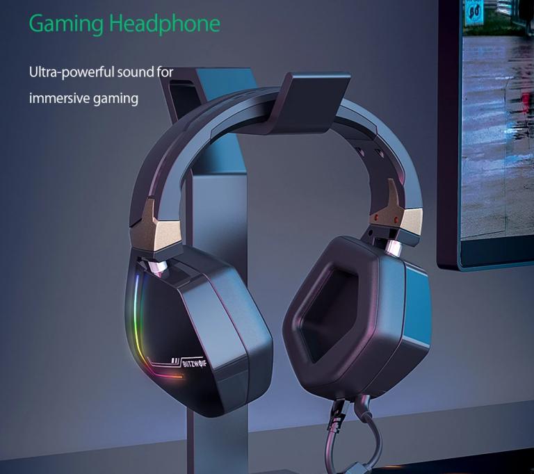 Új, 7.1-es gamer fejhallgató érhető el a BlitzWolftól 2