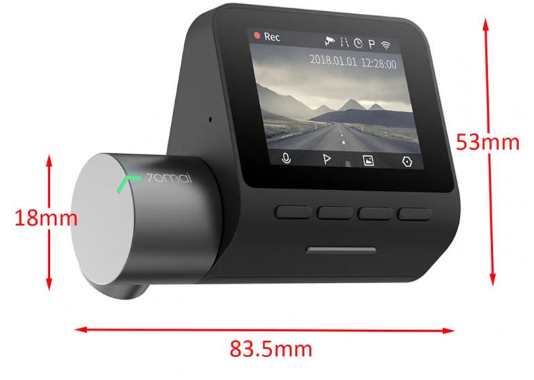 Akciós a 70mai Dash Cam Pro autós menetrögzítő 8