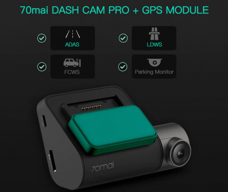 Akciós a 70mai Dash Cam Pro autós menetrögzítő 4