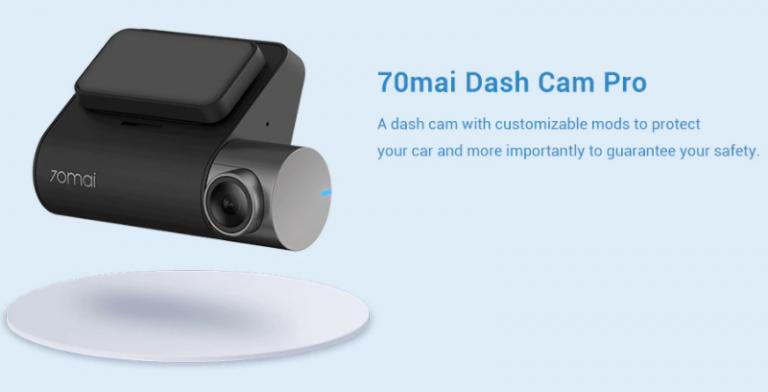 Akciós a 70mai Dash Cam Pro autós menetrögzítő 5