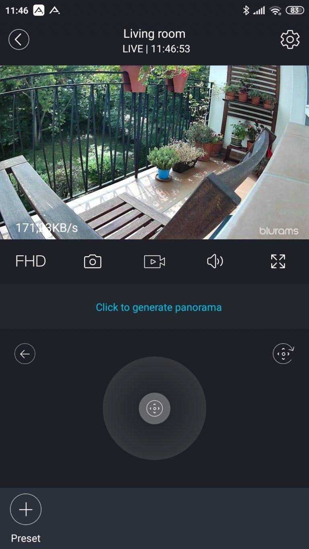 Blurams Dome Lite 2 IP kamera teszt 19