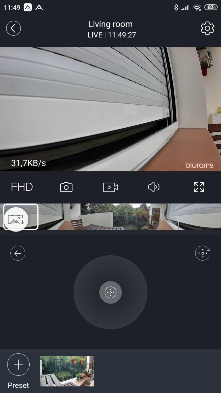 Blurams Dome Lite 2 IP kamera teszt 20