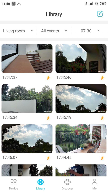 Blurams Dome Lite 2 IP kamera teszt 21