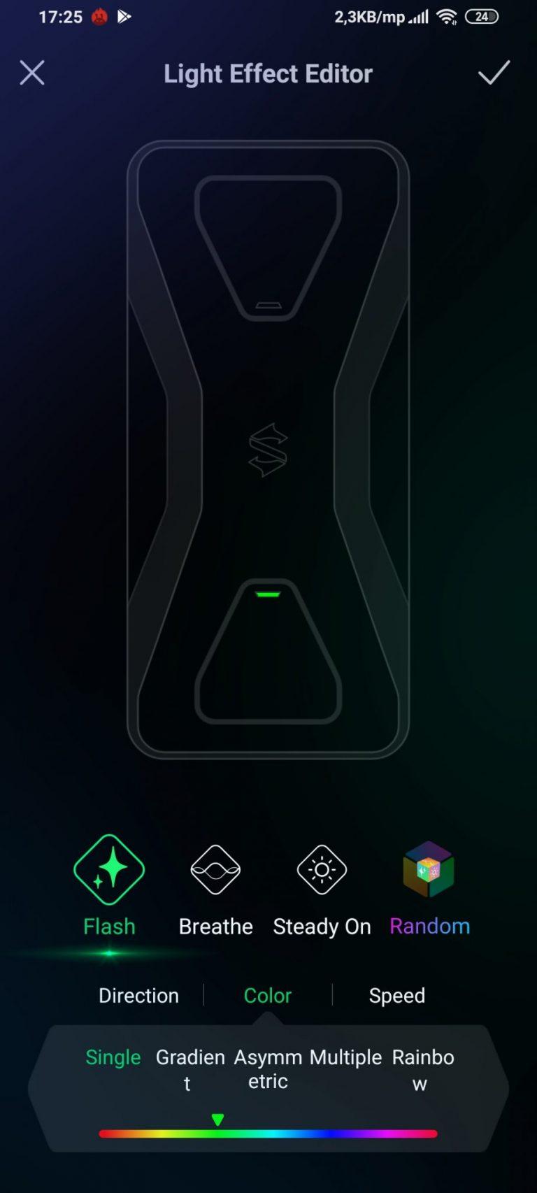Black Shark 3 gamer telefon teszt 26