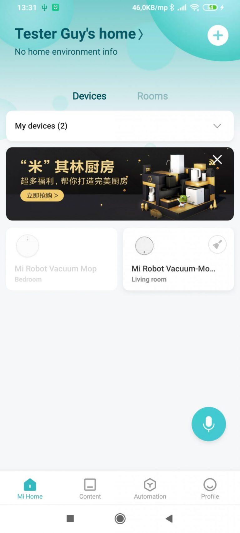 Xiaomi Vacuum-Mop Essential robotporszívó teszt 22