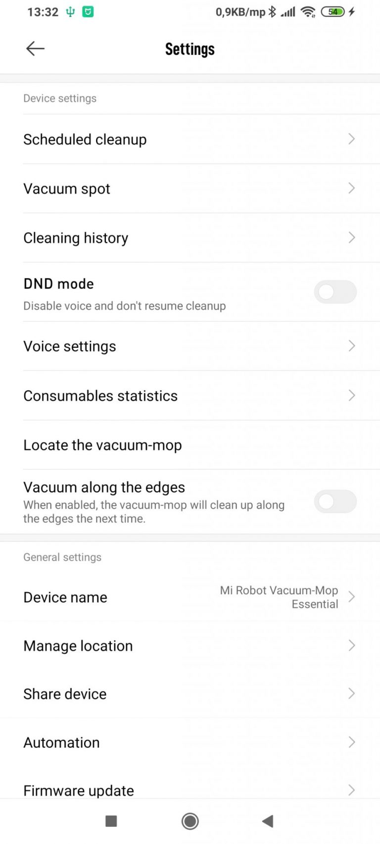 Xiaomi Vacuum-Mop Essential robotporszívó teszt 23