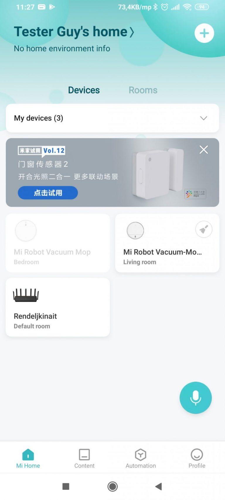 Xiaomi AX3600 router teszt 32