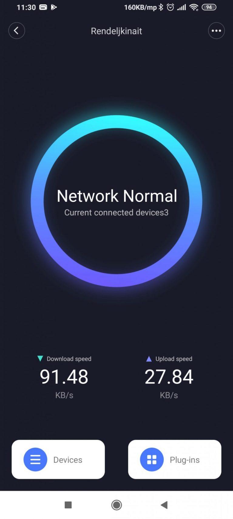 Xiaomi AX3600 router teszt 35