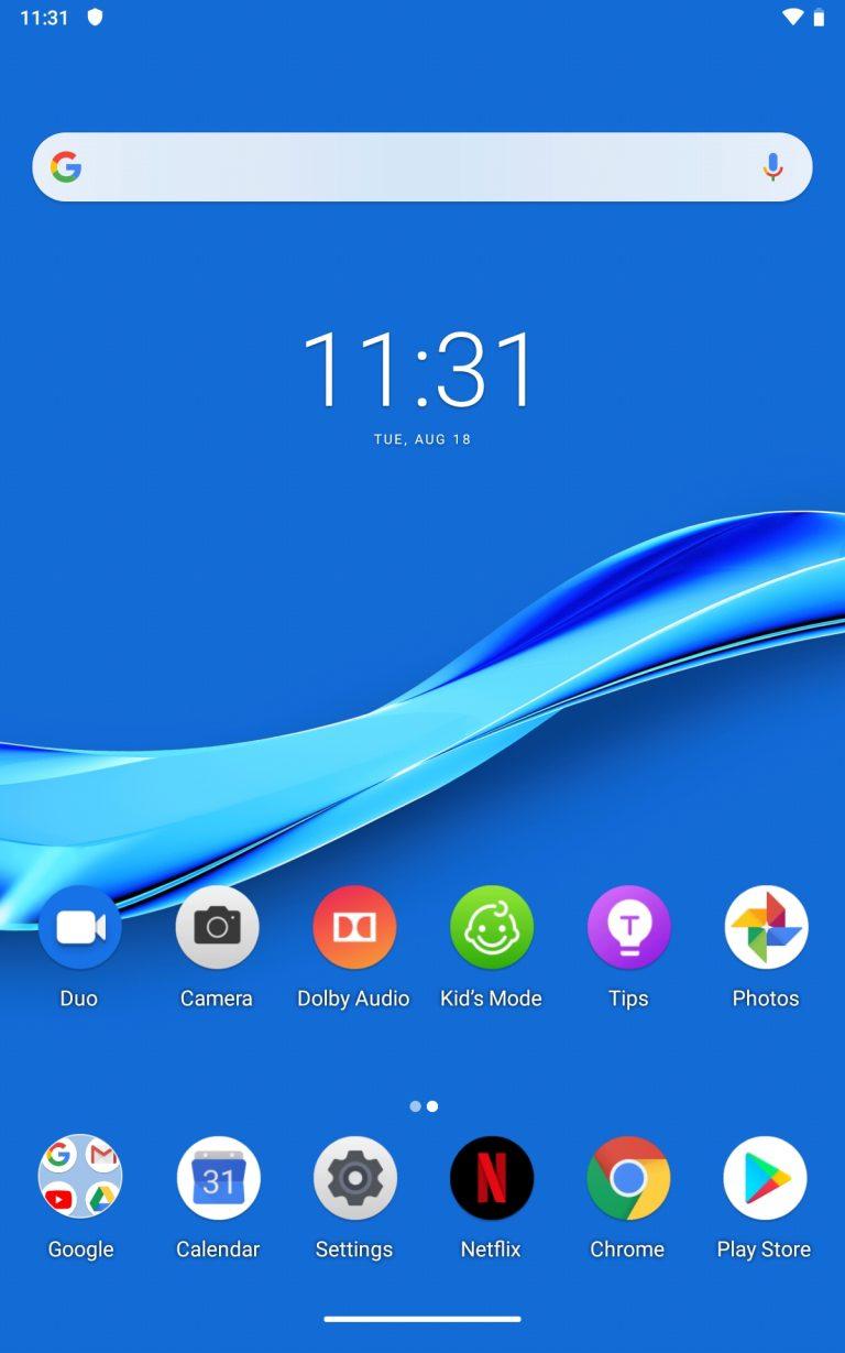 Lenovo Tab M8 Full HD tablet teszt 15