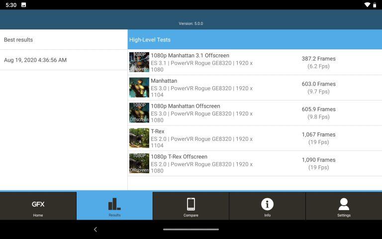 Lenovo Tab M8 Full HD tablet teszt 19