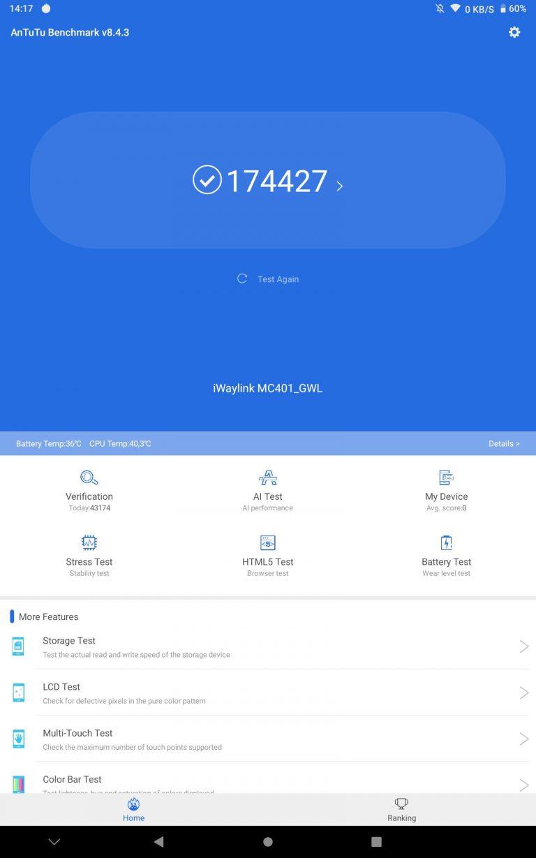 Alldocube X Neo tablet teszt 16