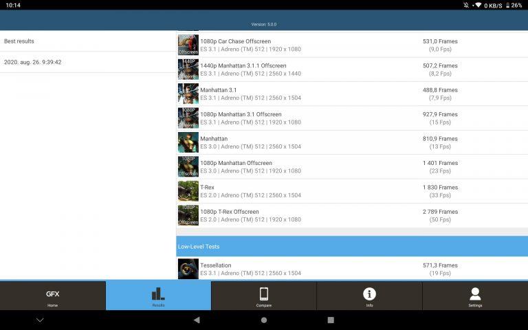 Alldocube X Neo tablet teszt 17