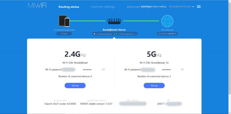 Xiaomi AX3600 router teszt 49