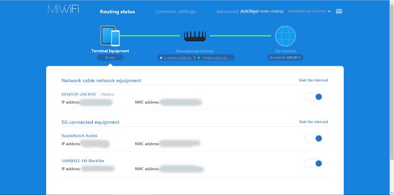 Xiaomi AX3600 router teszt 43