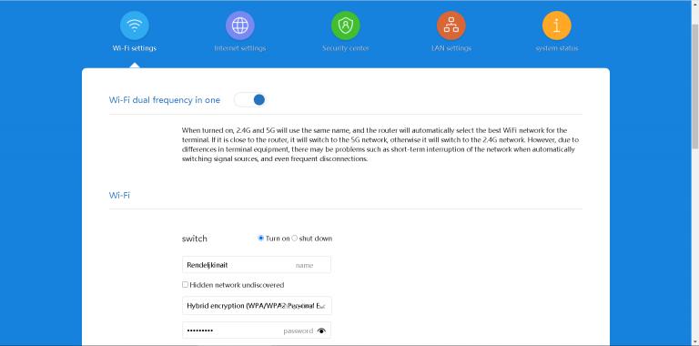 Xiaomi AX3600 router teszt 47