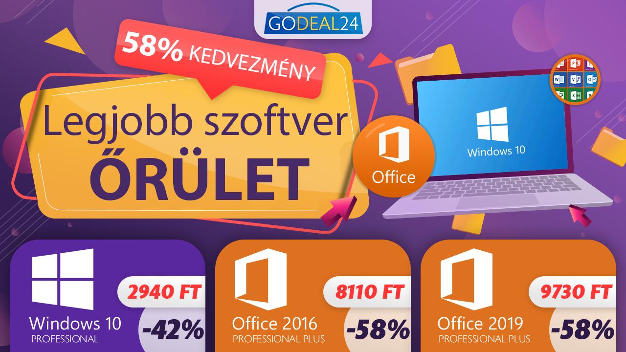 Nagyon olcsó Windows és Office 2