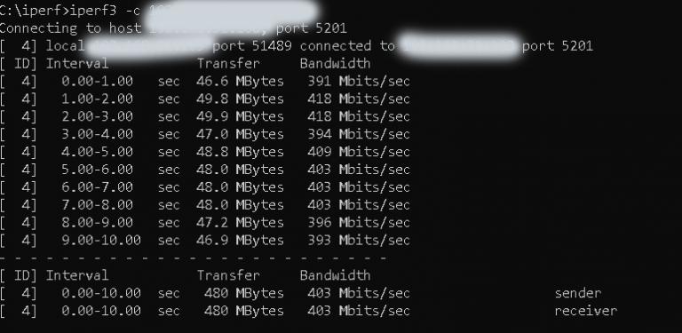 Xiaomi AX3600 router teszt 52
