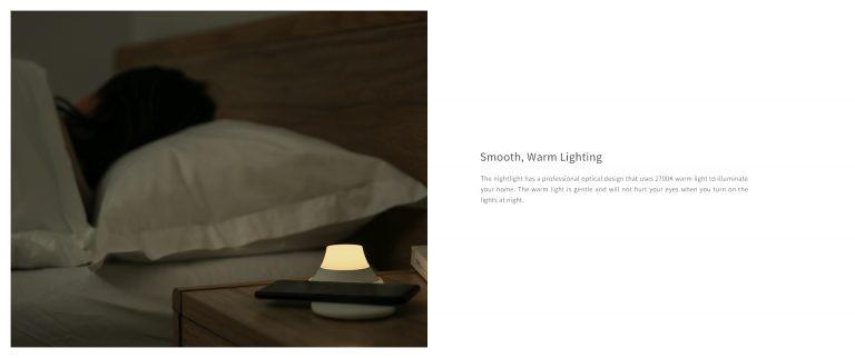Olcsó Yeelight éjjeli lámpa, vezeték nélküli töltővel 5