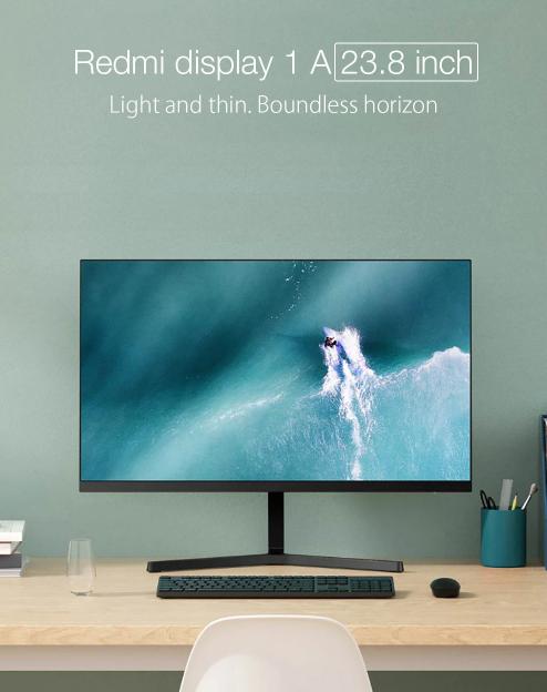 Home office kellék a Xiaomitól: itt a Redmi Display 1A 2