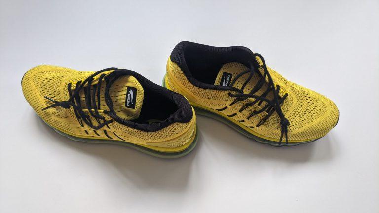 Onemix Slant Tonge cipő teszt 8