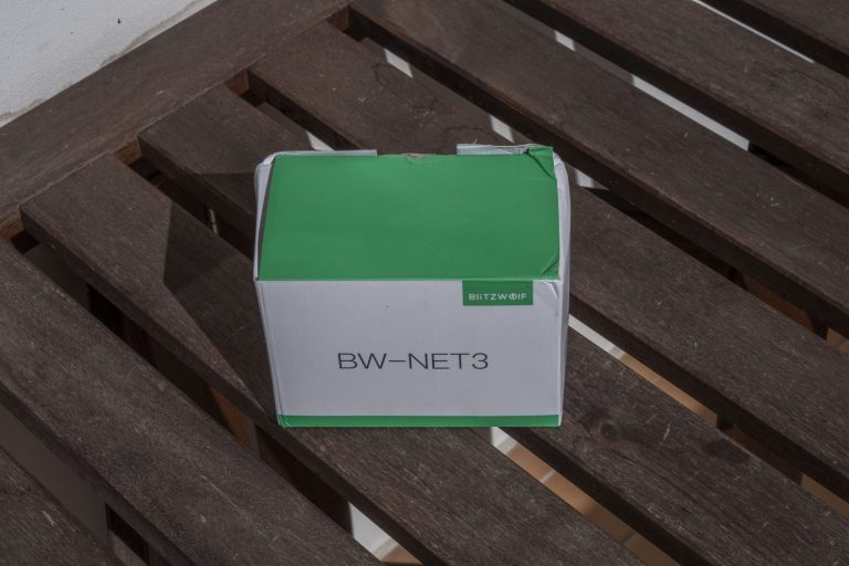Blitzwolf BW-NET3 WiFi repeater teszt 2
