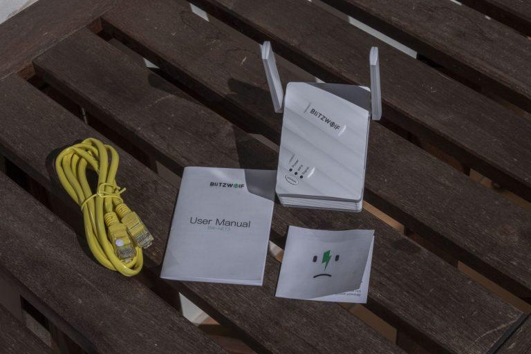 Blitzwolf BW-NET3 WiFi repeater teszt 3