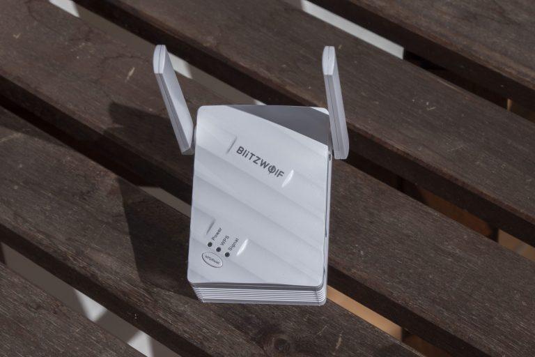 Blitzwolf BW-NET3 WiFi repeater teszt 4